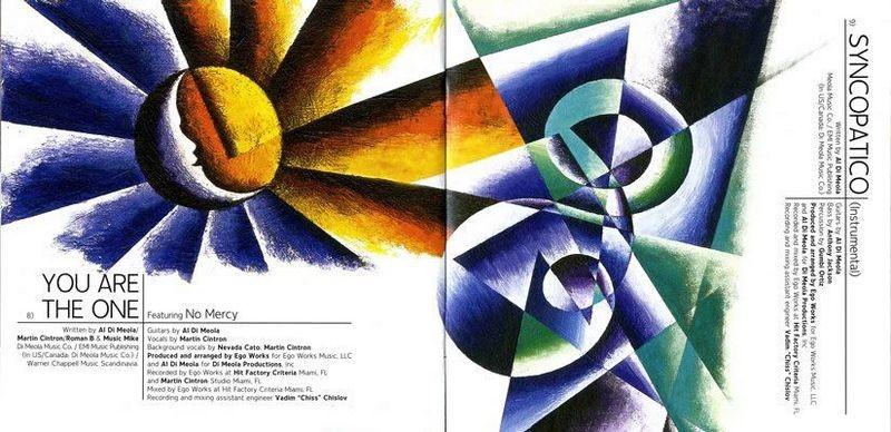 Al Di Meola Booklet Pages 8-9