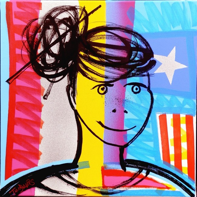Pop-Art Girl 5