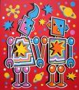 Space Robot Lovers (Scarlet Version)