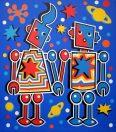 Space Robot Lovers (Ultramarine Version)