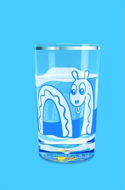 Spring Nessie Aqua Glass