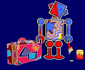 Robot & Suitcase