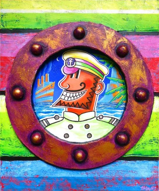 Captain Calypso and the Blue Ship