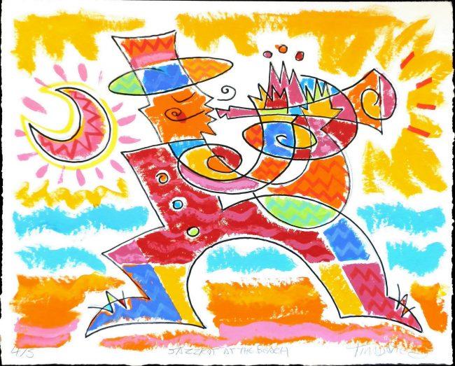jazzkat at the beach