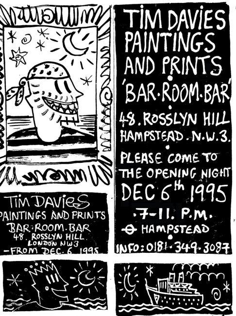 Bar Room Bar Flyer