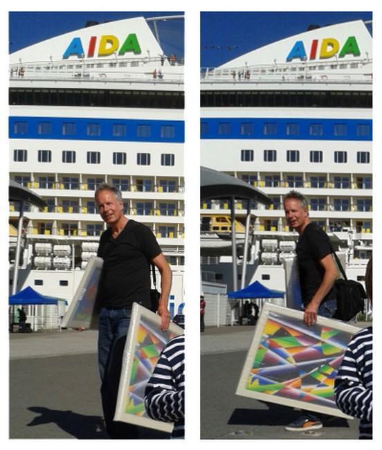 AIDAbella Art Voyage 2014 2