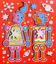 Space Robot Lovers (Red Series)