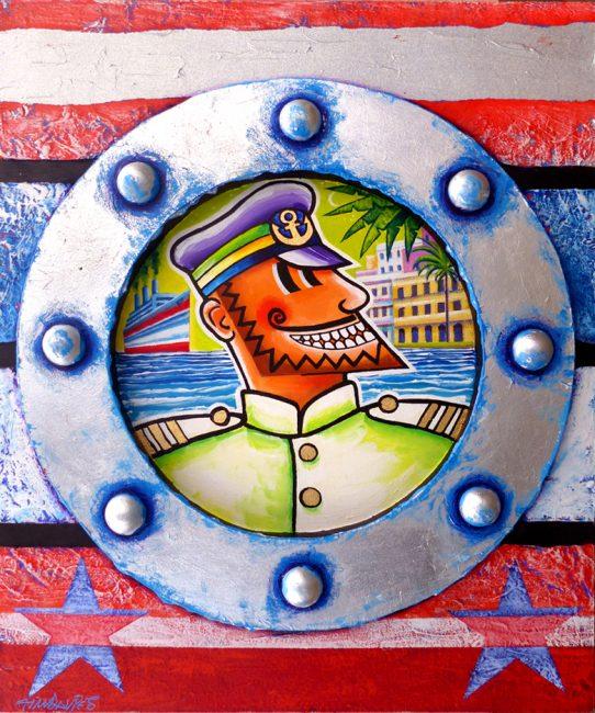 Captain Calypso's Voyage to Havana (silver Version)