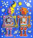 Space Robot Lovers (Blue Series)