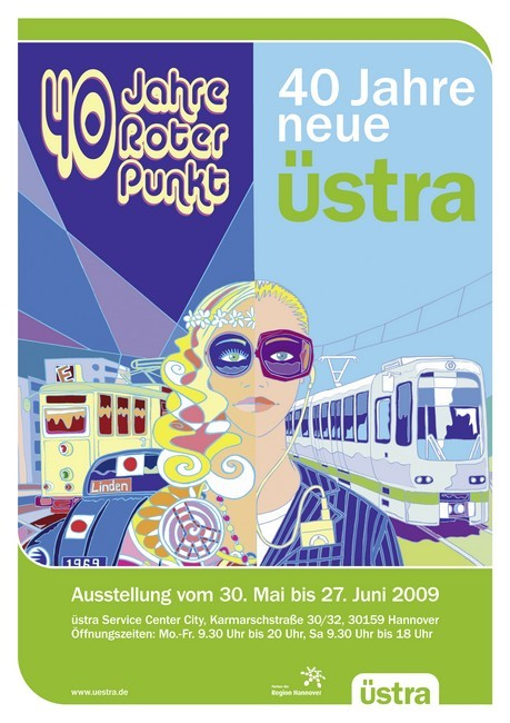 40 Jahre Roter Punkt Poster 2