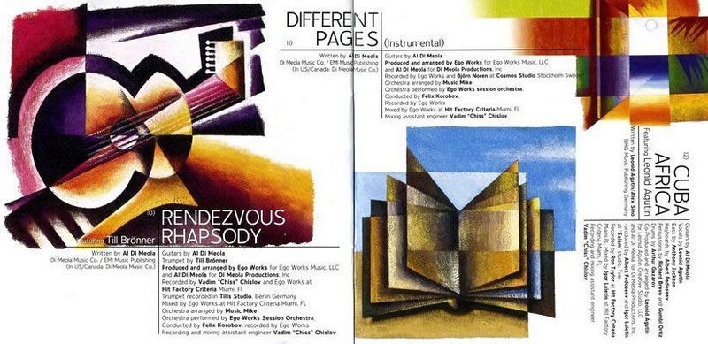 Al Di Meola Booklet Pages 10-11