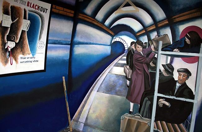 Covent Garden Tube Station 5