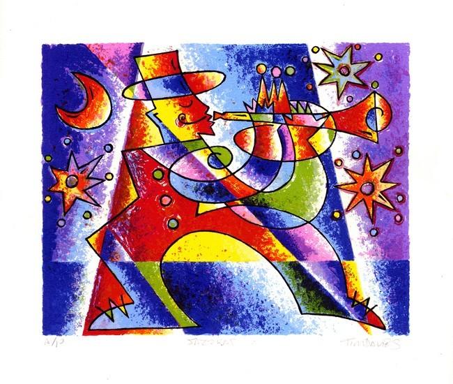 Jazzkat Print