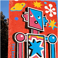 Berlin Wall Art / Berliner Mauer Kunst