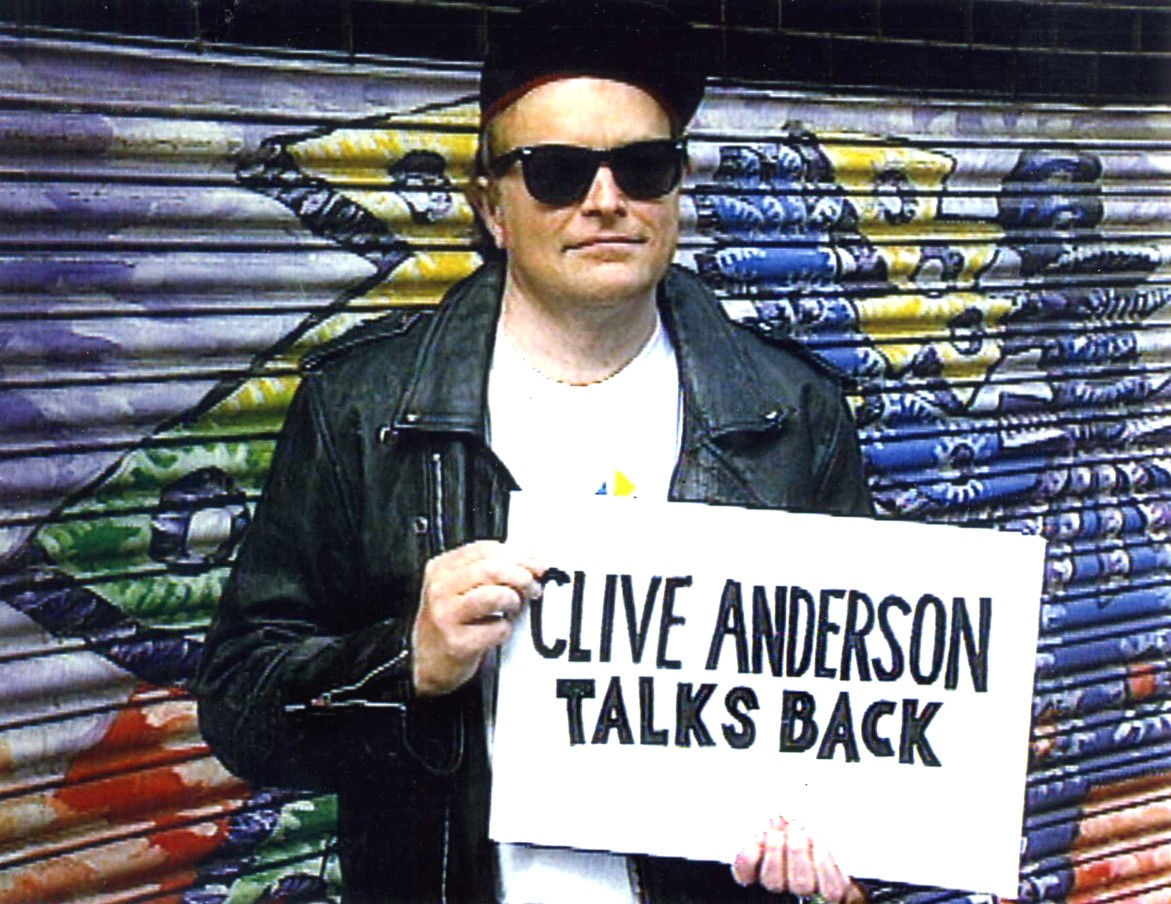 Clive Anderson Talks Back