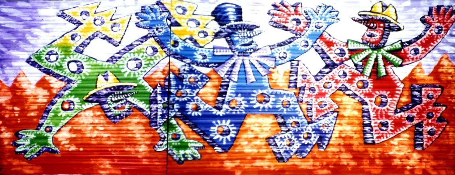 CH4 Street Mural a