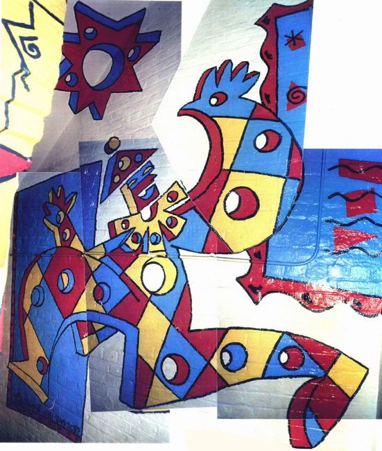 Pink Floyd Mural 2