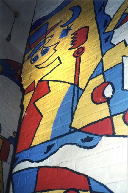 Pink Floyd Mural 1