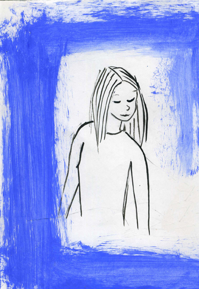 Blue Girl a