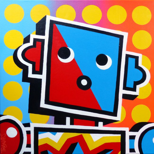 POP-ART ROBOT Scarlet Version a