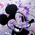 Silver Glitter Pop Mouse