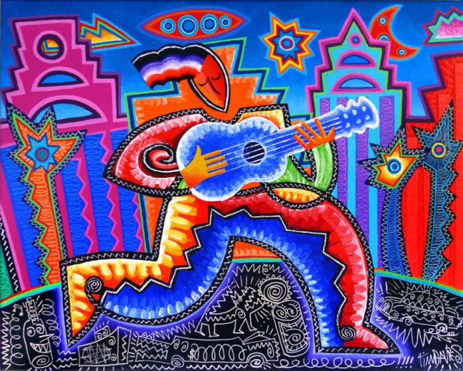 Blue Guitar 1996-2017a