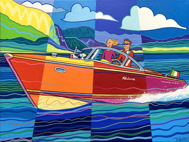 RIVA Boat a